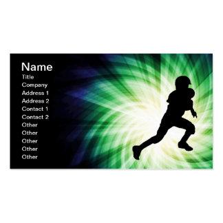 Fútbol de la juventud plantillas de tarjetas personales