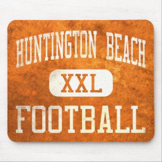 Fútbol de los engrasadores de Huntington Beach Alfombrillas De Ratón