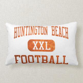 Fútbol de los engrasadores de Huntington Beach Cojín