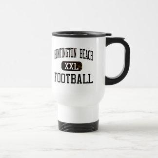 Fútbol de los engrasadores de Huntington Beach Tazas De Café