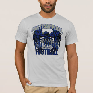 Fútbol de los Falcons de Fort Campbell Camiseta