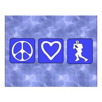 Fútbol del amor de la paz comunicados