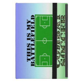 Fútbol del combate iPad mini protector