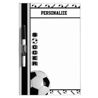 Fútbol del deporte - blanco y negro pizarras