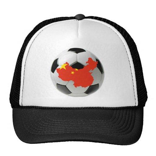 Fútbol del fútbol de China Gorra