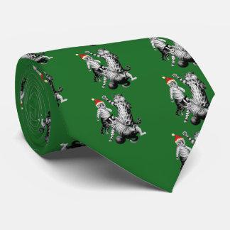 Fútbol del navidad que juega gatos corbata