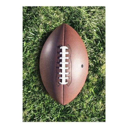 Fútbol en hierba comunicado personal