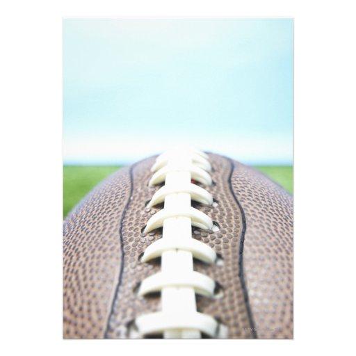 Fútbol en la hierba 2 invitaciones personales