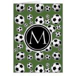 Fútbol fresco - top del árbol tarjeta pequeña