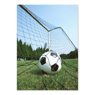 Fútbol Invitación 12,7 X 17,8 Cm