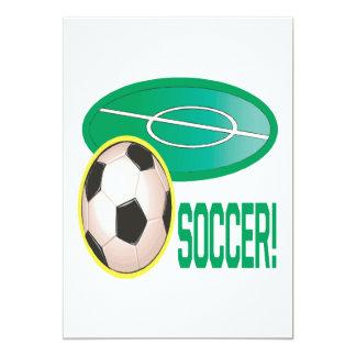 Fútbol Invitaciones Personales