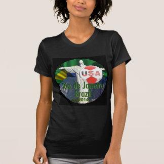 Fútbol los E.E.U.U. Río el Brasil Camisetas