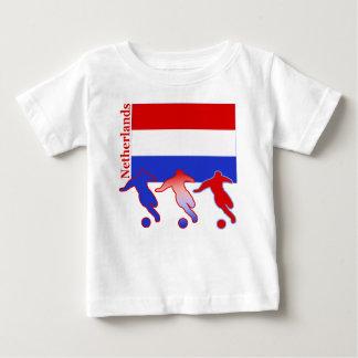 Fútbol Países Bajos Camiseta Para Bebé