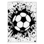 fútbol splat. felicitaciones