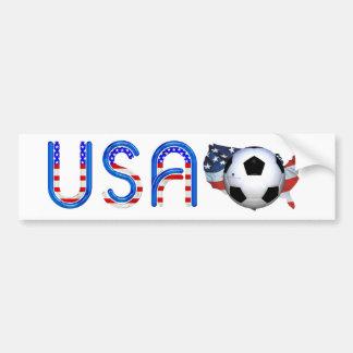 Fútbol SUPERIOR los E.E.U.U. Pegatina Para Coche