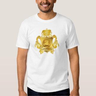 Fútbol Uruguay del oro Camisas