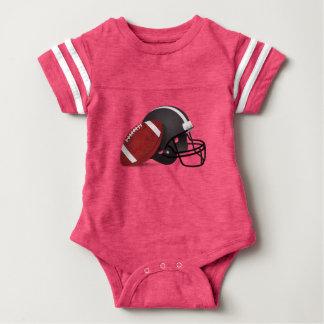 Fútbol y casco body para bebé