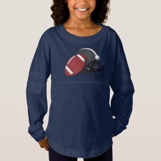 Fútbol y casco camiseta spirit