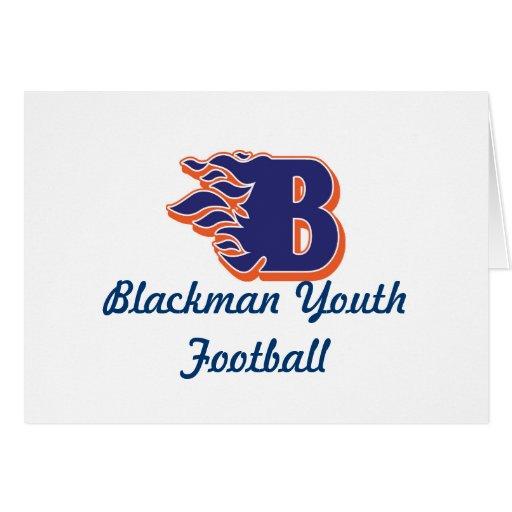 Fútbol y el animar de la juventud del resplandor d felicitación