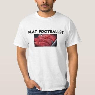 ¿Fútboles planos? Camisetas