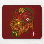 Futebol Tugas Mousepad de Portugal