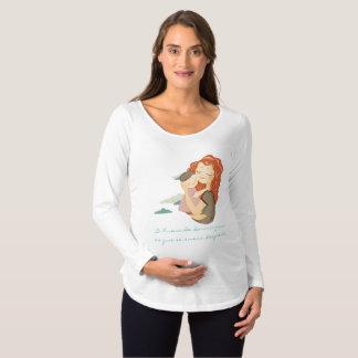 Futura mami, futuros sueños camiseta de premamá