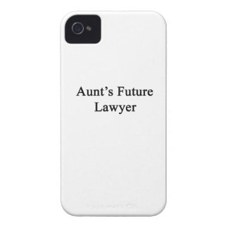 Future Lawyer de tía iPhone 4 Carcasas