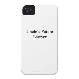 Future Lawyer de tío Case-Mate iPhone 4 Protectores