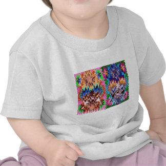Futuro colorido - transformaciones asombrosas camisetas