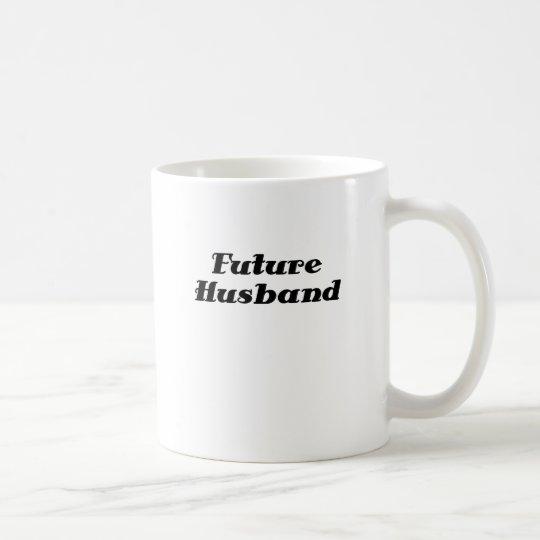 Futuro marido taza de café