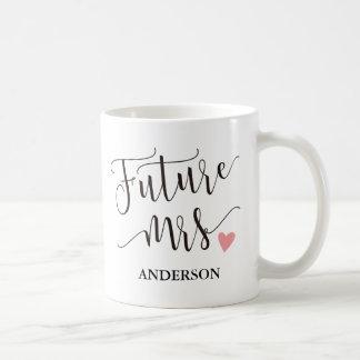 Futuro personalizado Mrs.3 Taza De Café