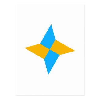 G00003 Origami Shuriken Postal