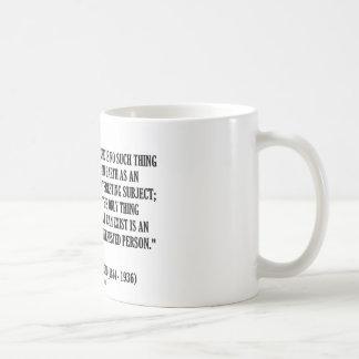 G.K. Indiferente sujeto sin interés de Chesterton Tazas De Café