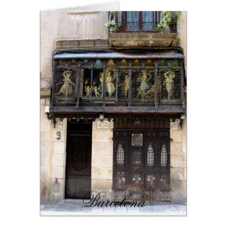 g/nc Barcelona Barri Gotic 2 Barcelona Tarjeta De Felicitación