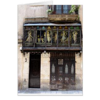 g/nc Barcelona Barri Gotic 2 Tarjeta De Felicitación
