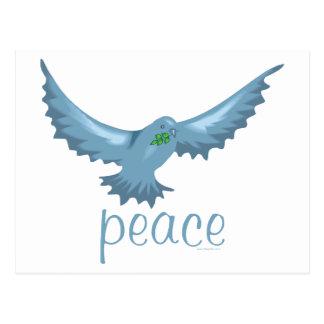 G - Paloma de la paz Postal