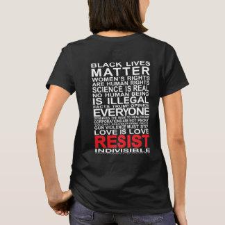 Ga1st indivisibles resisten la camiseta