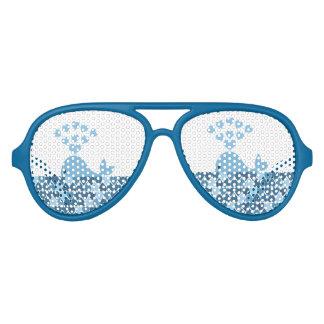 Gafas De Fiesta De Aviador Amor de la ballena