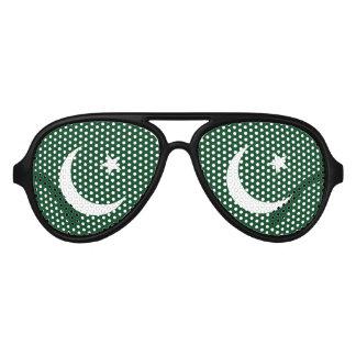 Gafas De Fiesta De Aviador Bandera de Paquistán