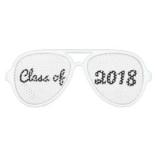 Gafas De Fiesta De Aviador Clase de graduado intrépido de la tipografía 2018