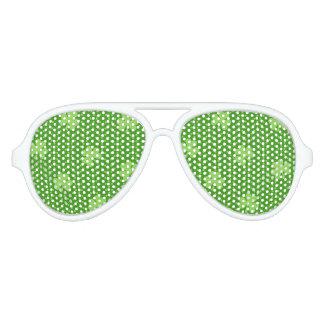 Gafas De Fiesta De Aviador Día verde de Patricks del santo del modelo del