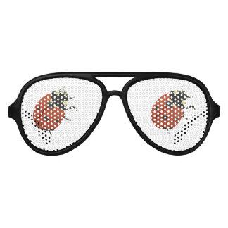 Gafas De Fiesta De Aviador El hogar de la oficina de la mariquita personaliza