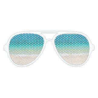 Gafas De Fiesta De Aviador El mar del océano de la sensación de la playa