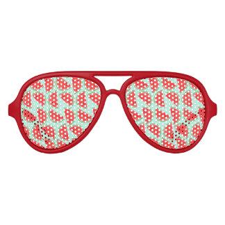 Gafas De Fiesta De Aviador Modelo de la sandía - sombras del fiesta