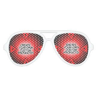 Gafas De Fiesta De Aviador Modifique/personalice/cree sus los propios para