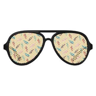 Gafas De Fiesta De Aviador Seashell
