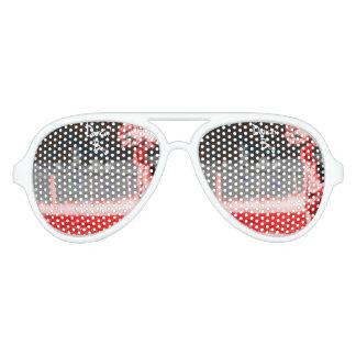 Gafas De Fiesta De Aviador Sombras adultas del fiesta del aviador del
