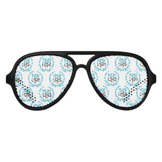 Gafas De Fiesta De Aviador Su imagen de encargo del logotipo el | por todo