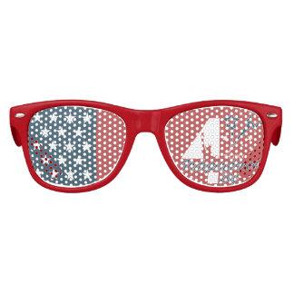 Gafas De Fiesta Retro 4 de julio Día de la Independencia