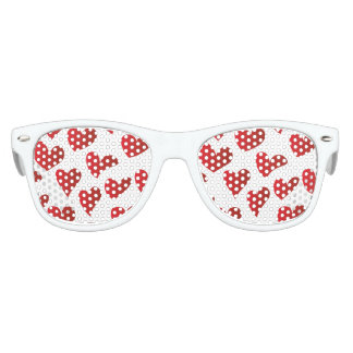 Gafas De Fiesta Retro Amor rojo pintado modelo del corazón del ejemplo